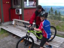 Suksess for Trysils nye sykkelsti!