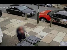 CCTV footage following the fatal stabbing