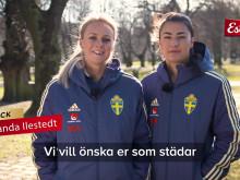 VM-spelarnas hälsning till ungdomarna 2