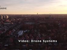 Droner finder lækager i fjernvarmenettet
