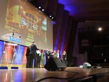 Stylt vinner Unescos pris för världens bästa hotelldesign - filmklipp från galan i Paris den 12 september 2019
