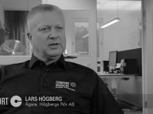 Lars Högberg, ägare av Högbergs rör, stolt medlem i Comfort-kedjan