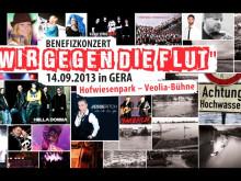 """Pax et Bonum """"Wir gegen die Flut"""" 2013"""