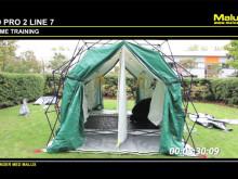Snabbmonterat tält - ledningstält eller saneringstält!