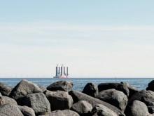 E.ONs vindkraftverk passerar Öresund