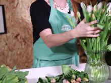 Skötselråd för tulpaner i vas.