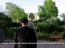 Kapten Ola Bengtsson landstiger i Åland