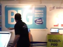 Textlocal at The Digital Marketing Show - in action!