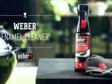 Weber Grillrens -  Utvendig Emalje