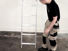 WIBE Ladders Nivåutjämnande Säkerhetsben Film