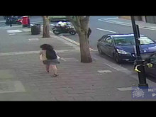 CCTV of the first robbery in Moscow Road.