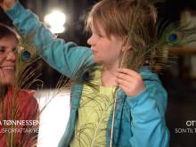 Om barn på flukt og Påfuglen