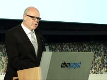 ebm-papst öppnar tillbyggnad av produktionen i Hollenbach
