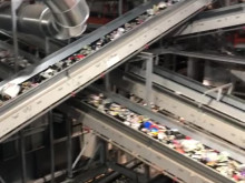 Återvinning av plastförpackningar - från invigningen av fabriken i Motala