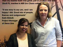 Mitt Livs Chans Online, a digital mentoring program