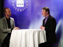 Professor Per Carlbring intervjuas av Mattias Lundberg under Psykologisk Salong 22 mars 2012