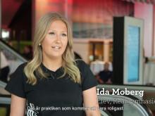 Film från invigningen av den nya hotellutbildningen på Realgymnasiet.