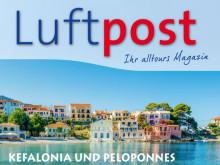 """""""Luftpost"""" – das Kundenmagazin von alltours"""