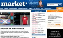 """Hollywood har öppnat m-handel"" - market.se"