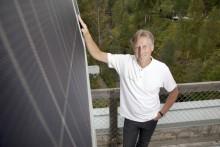 Umeå Energis huvudkontor får solpanel på taket