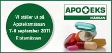 Midsona Sverige deltar på Apoteksmässan 7 - 8 september