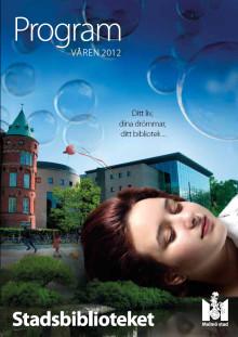 Ditt liv, dina drömmar, ditt bibliotek: Fullspäckat program på Stadsbiblioteket i vår