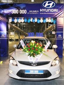 Hyundai nr 300.000 produsert i Europa