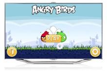 Rörelsestyrd app: Angry Birds från soffan med Samsung Smart TV