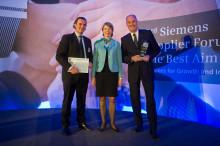 """Weidmüller vann kategorin """"totalt bäst"""" bland 91 000 leverantörer"""