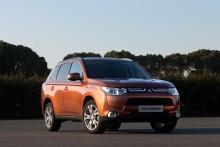 Världspremiär för nya Mitsubishi Outlander