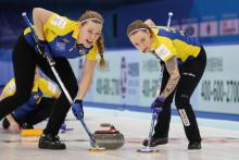 Curling-VM: Förlust mot USA för lag Hasselborg