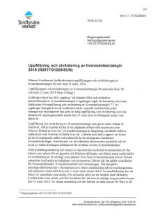 Uppföljning och utvärdering av livsmedelsstrategin 2018