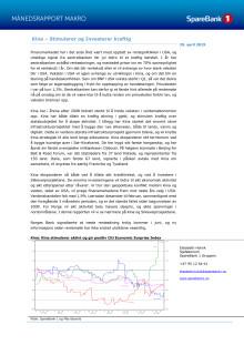 Makrorapport april 2019: Kina stimulerer og investerer kraftig