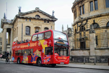 MORE THAN 1,000 RESIDENTS TOOK A TOUR OF THEIR OWN CITY VIA FREE CITY SIGHTSEEING BUS TOURS OF OXFORD