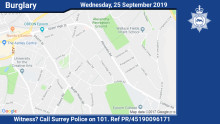 E-fit released in connection with distraction burglary in Epsom