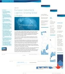 Industri & logistik i Europa länkas samman globalt