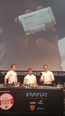 Sony une tecnología y cocina de la mano de los hermanos Torres