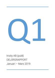 Delårsrapport första kvartalet 2019