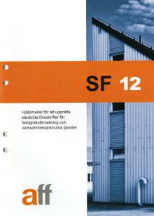 """Nytt Aff-dokument: Särskilda föreskrifter, SF 12. """"Alla Aff:s grunddokument nu uppdaterade"""""""
