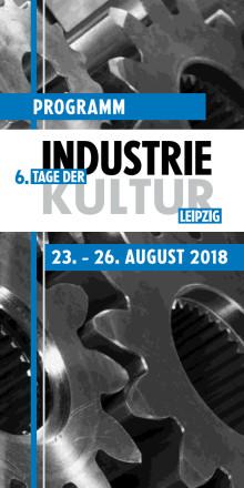 Programmheft Tage der Industriekultur Leipzig 2018