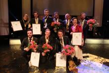 Vinnarna korades vid Västerås årliga näringslivsgala Guldstänk