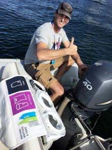 VM i sejlads introducerer affaldssortering på vandet