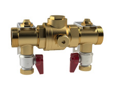 New filling valve for large heat pumps