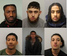 Seven sentenced for their part in armed street brawl in Westminster