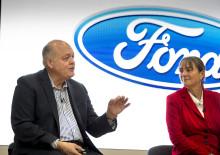 Ford-Chef Jim Hackett eröffnet Smart-Mobility-Standort in London