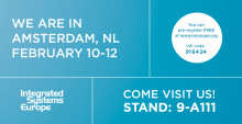 Meet Synergy SKY at ISE 2015 in Amsterdam
