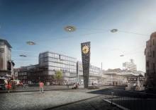 Klimafreundliche Mobilität: STRABAG baut Bielefelds Zentrum für Verkehrswende um