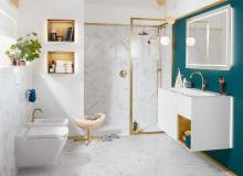 Pour un moment de luxe tout à fait personnel :   la collection de salles de bains haut de gamme Finion gagne encore en polyvalence