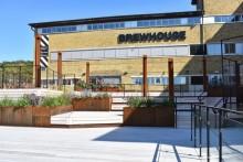 Ny uteplats på Brewhouse