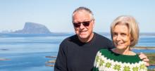 """Roy Jacobsen og Anneliese Pitz er aktuelle med romanen """"Mannen som elsket Sibir. En sommerfuglsamlers erindring"""""""